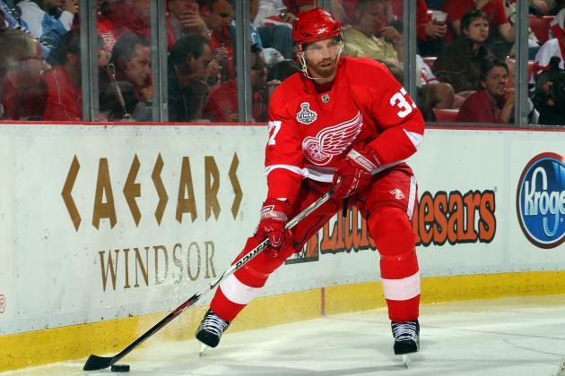 Red Wings' Mikael Samuelsson in for Justin Abdelkader vs. Ducks Tonight