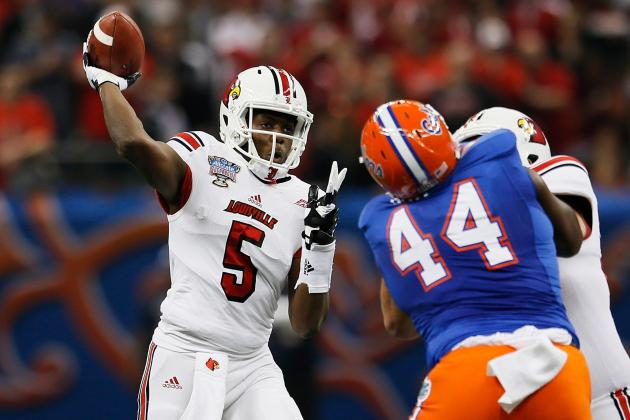 Nobody Is Talking About Louisville QB Teddy Bridgewater, and They Should Be