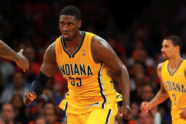 Indiana Pacers Must Ride Roy Hibbert to Conference Finals