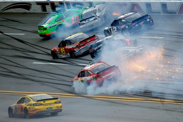Videos of the 'Big Ones from NASCAR Sprint Cup Race at Talladega