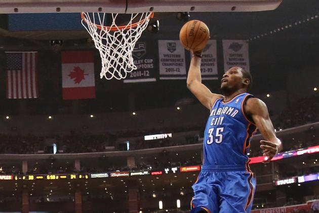Video: Kevin Durant's 5 Meanest Dunks This Year