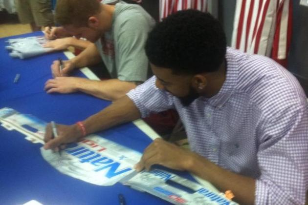Indiana Basketball: Watford Autographs