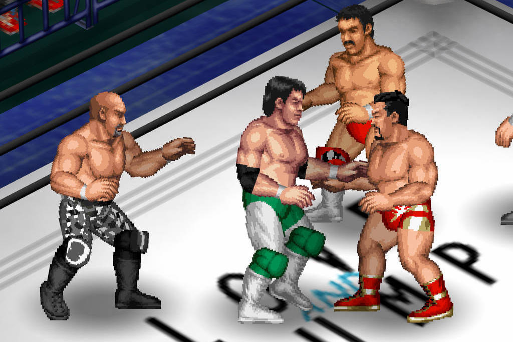 best fire pro wrestling game