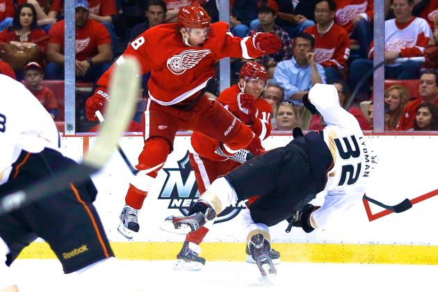 NHL Suspends Detroit Red Wings Forward Justin Abdelkader for Two Games
