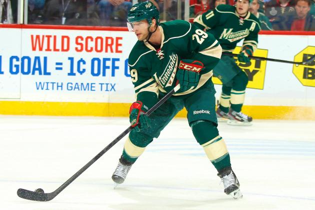 Pominville Practicing for the Wild; Dumba, McMillan Recalled