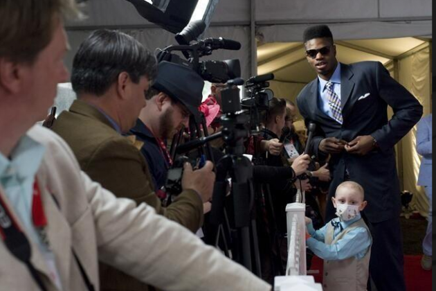 Nerlens Noel Escorting Leukemia Patient to Kentucky Derby Is Truly Wonderful