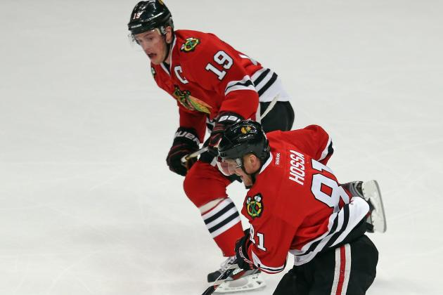 Blackhawks' No. 1 Line Not Playing Like It