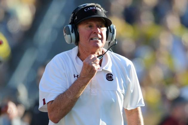 Spurrier Wants Players to Get Piece of SEC Network 'Pie'