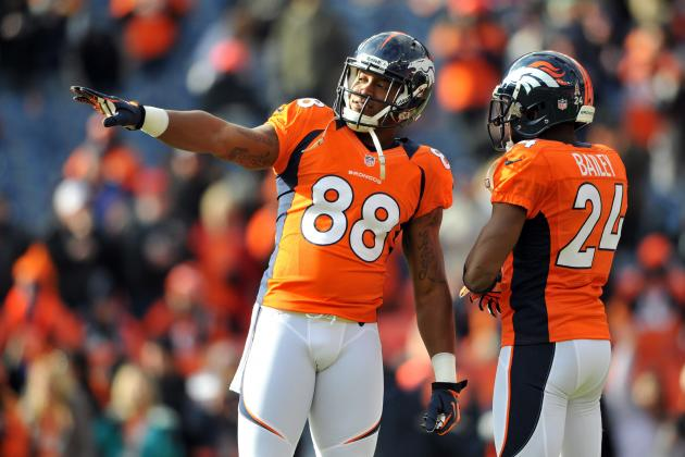 What the Broncos Draft Meant for Champ Bailey