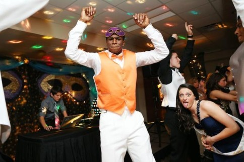 Andrew Wiggins Lets Loose at Senior Prom