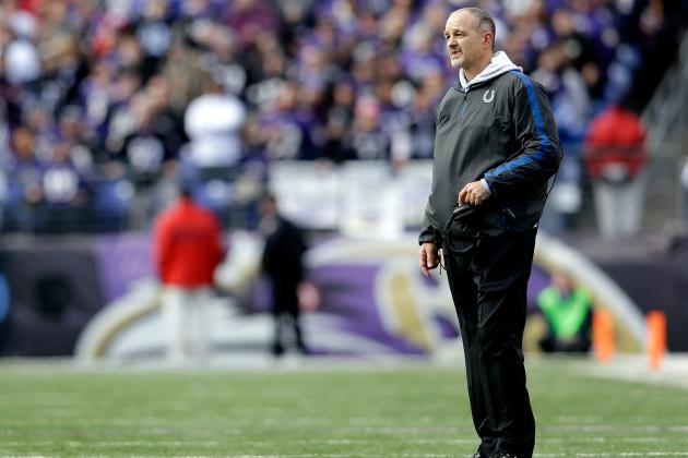 Chuck Pagano: Colts Will Still Be Vertical