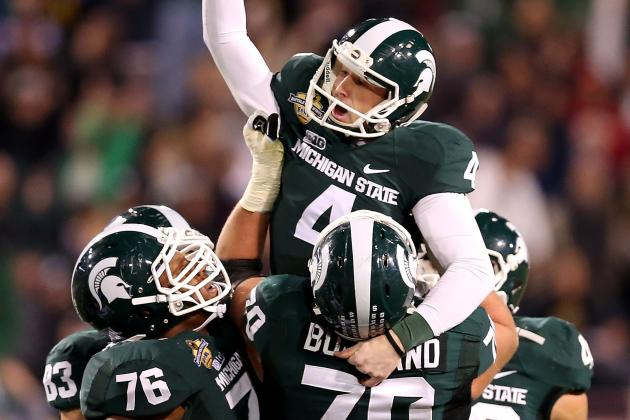 Michigan State Football Gets 8 P.m. Start for Season Opener