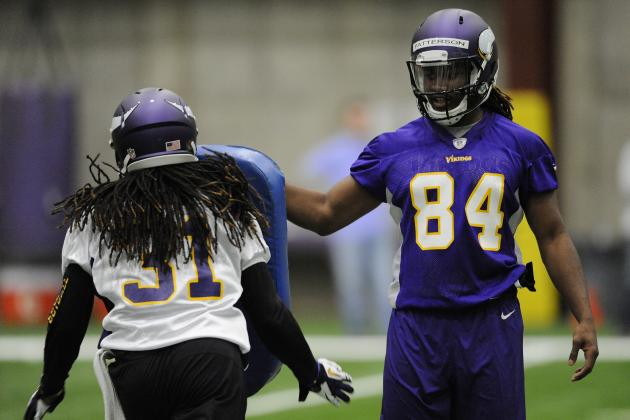 Patterson Impresses Early in Vikings' Minicamp