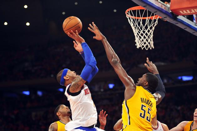 How Bad Carmelo Anthony's Shooting Is During 2013 Playoffs and How He Can Fix It