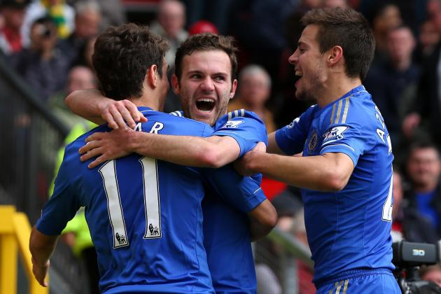 Juan Mata Would Be a Perfect Fit for the Manchester United Machine