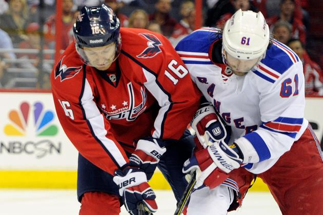 Capitals vs. Rangers: ESPN GameCast