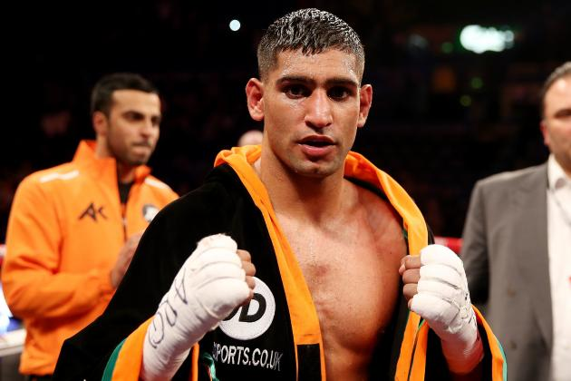 Amir Khan Says He Would Love to Fight 'Work of Art' Floyd Mayweather