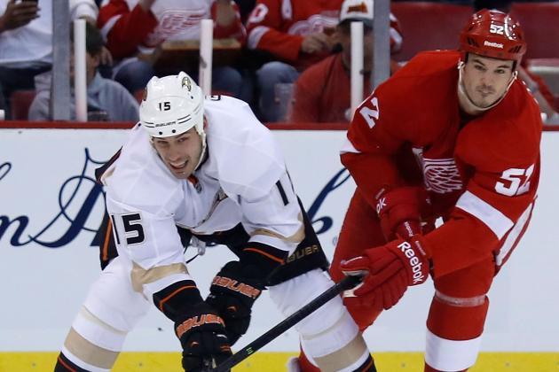 Ducks vs. Red Wings: ESPN GameCast