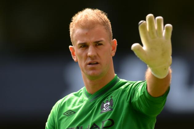 Man City to Bench Joe Hart for FA Cup Final