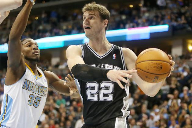 Tiago Splitter Out Tonight vs. Warriors