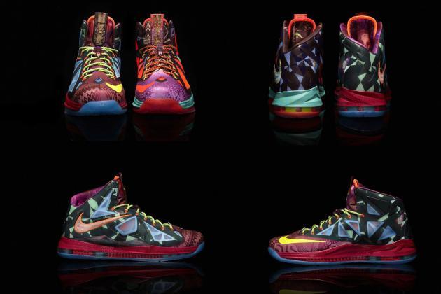 Grading the LeBron X MVP Shoe King James Rocked in Game 1 vs Bulls