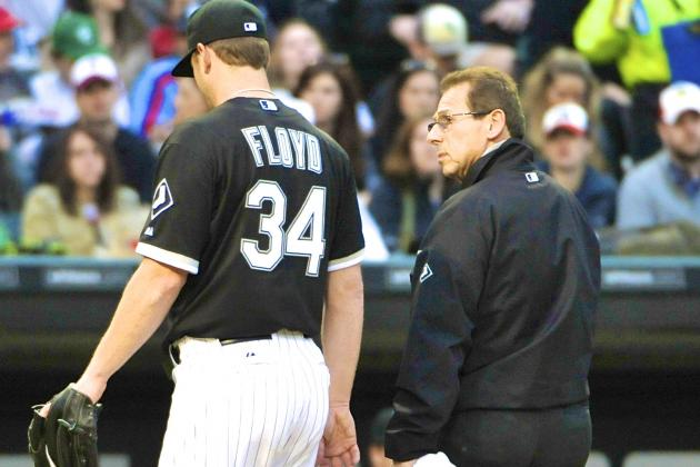 Surgery to shelve White Sox's Floyd for season