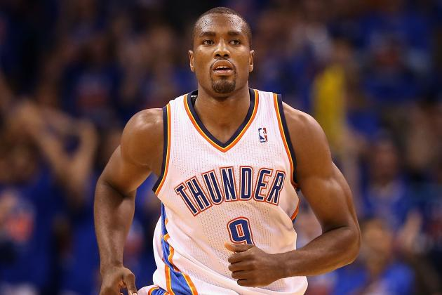 Thunder Remain Confident in Serge Ibaka's Shooting