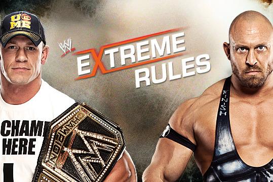 Stipulation Set for John Cena vs. Ryback at Extreme Rules