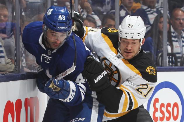 Bruins Spoil Return of Playoff Hockey to Toronto