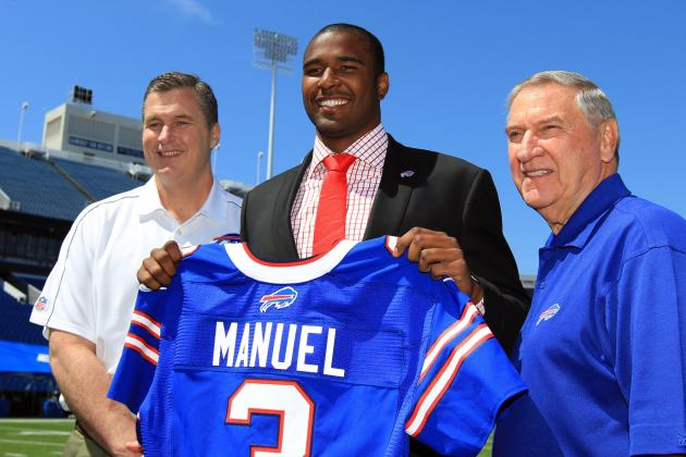 Breaking Down Why EJ Manuel Is the Perfect Fit in Doug Marrone's Offense