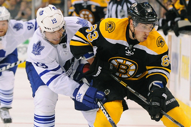 Game 3: Bruins-Leafs Snapshots