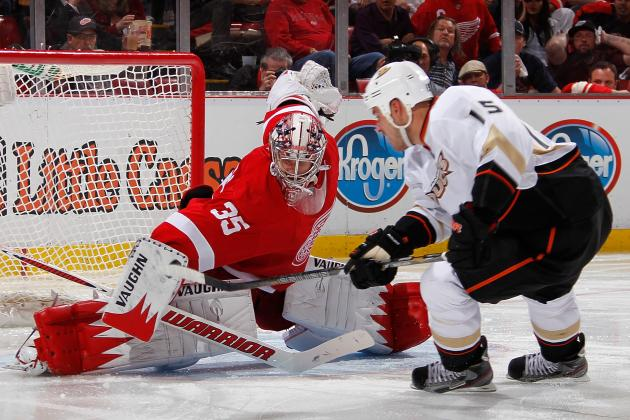Red Wings 3, Ducks 2, OT