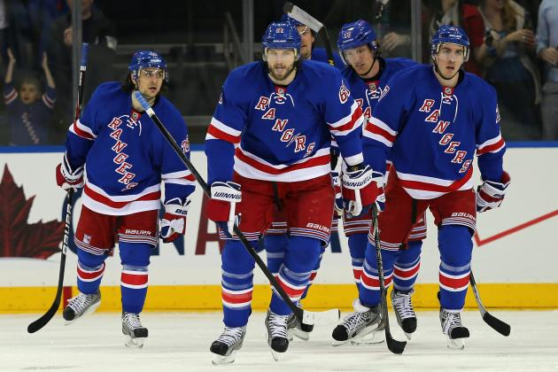 Rangers Record Crucial 4-3 Win in Game 3