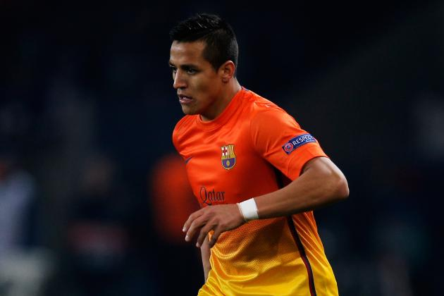 Barcelona Transfers: Why Tito Vilanova Should Move Alexis Sanchez This Summer