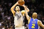 Spurs Erase Big Deficit, Beat Warriors in 2OT Thriller