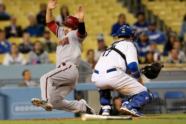 Diamondbacks 9, Dodgers 2