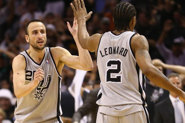 Spurs' First Miracle Forces OT, Second by Manu Wins It