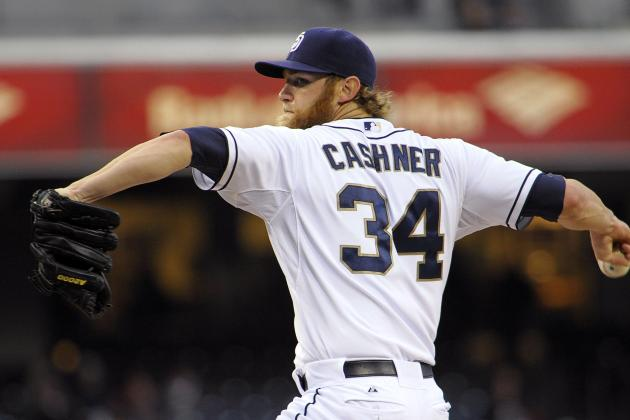 Cashner Shuts out Marlins to Lead Padres