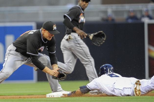 Errors, Offensive Woes Costly in Miami Marlins' Loss to Padres