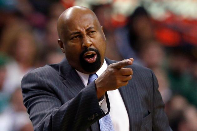 Mike Woodson Says He Won't Change Knicks' Starting Lineup