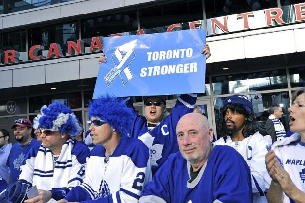 Heartless Maple Leafs Fan Mocks 'Boston Strong' Slogan