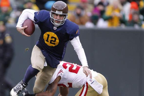 Packers Bring Back Throwbacks, to Aaron Rodgers' Delight