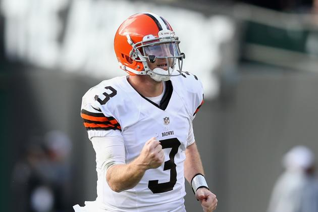 Starting QB Is Still Brandon Weeden's Job to Lose