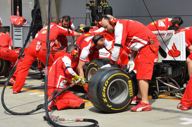 Ferrari 'Not Quite Where They Want to Be'
