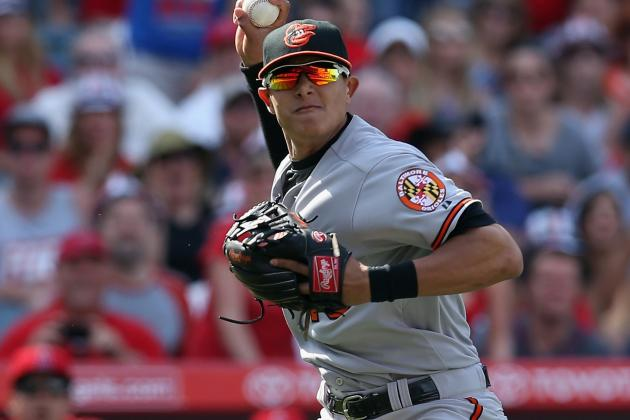 Orioles' Machado Shows Maturity On and Off Field
