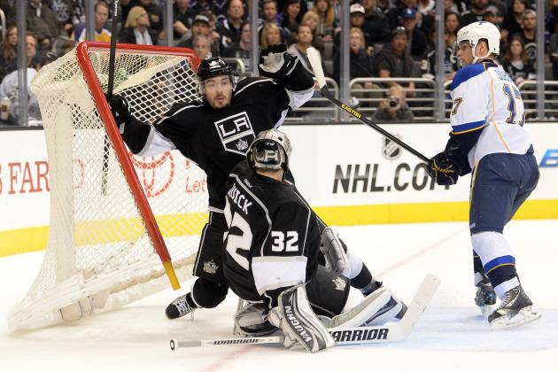 Williams, Kopitar Help Kings Even Series
