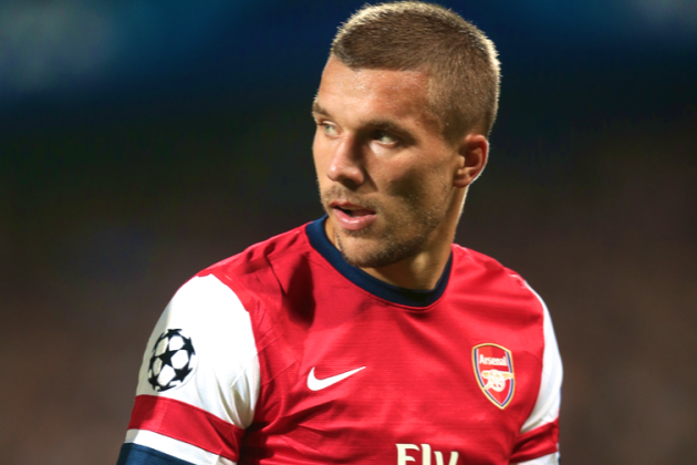 Lukas Podolski: Has He Been a First-Season Flop at Arsenal?
