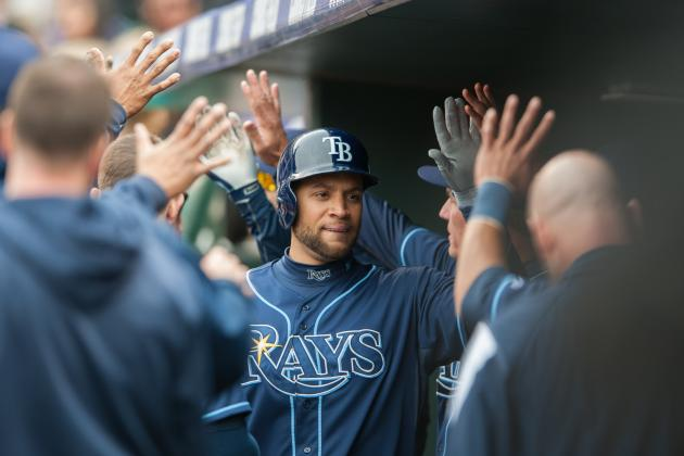 Rays Enjoying Loney's Hot Start