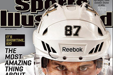 Crosby Graces Cover of SI