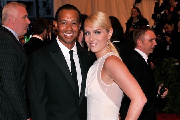 Tiger Woods and Lindsey Vonn Make Public Debut